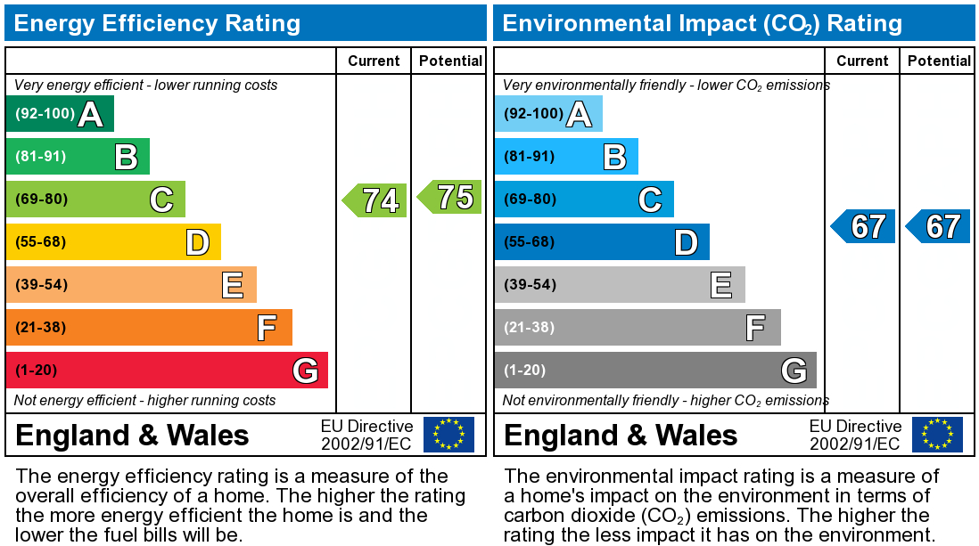 EPC Graph for Manor Place, King Street