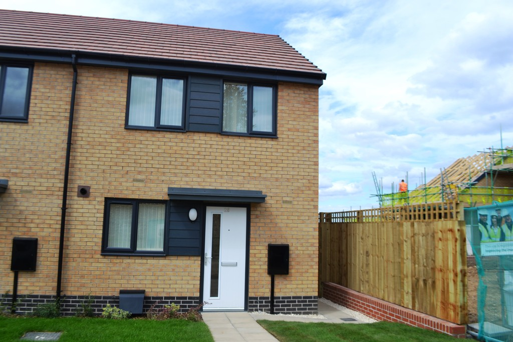 Modern two bedroom terrace for rent in Edlington, Doncaster, DN