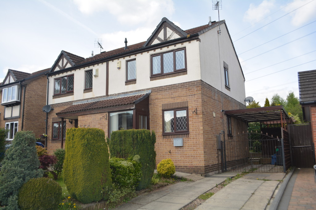 Three bedroom semi detached home for sale in Brinsworth, Rotherham, S6