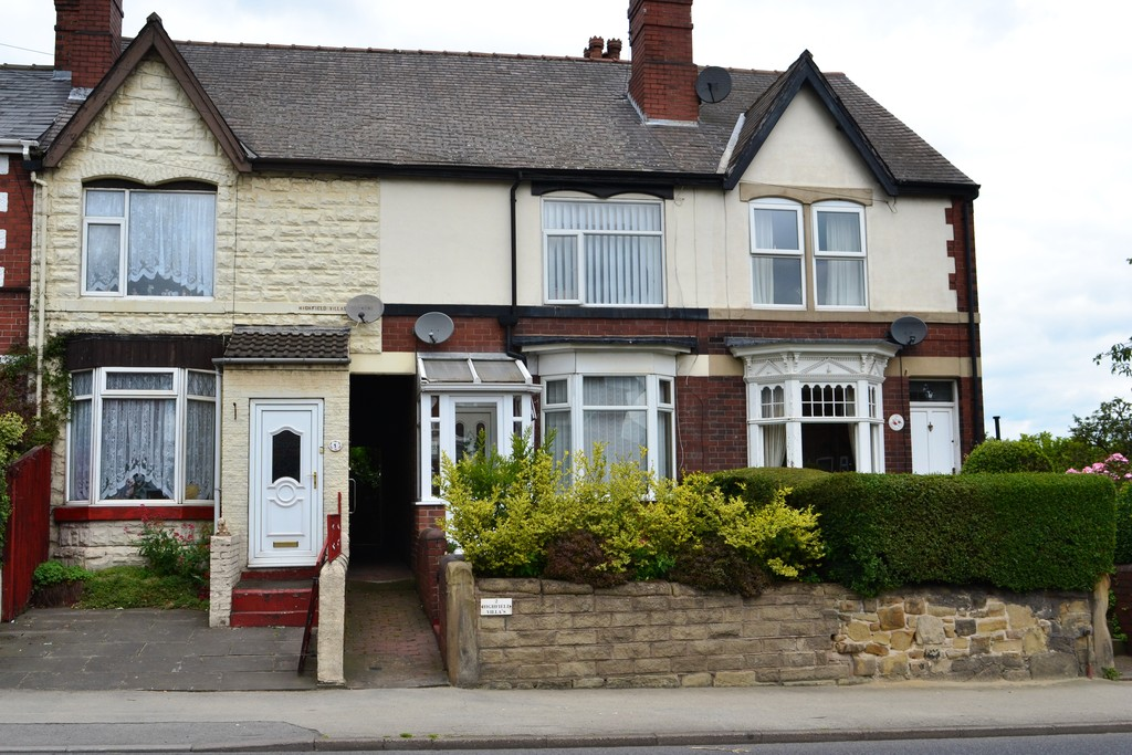 Three Bedroom Mid Terraced House for sale in Thrybergh, Rotherham, S6