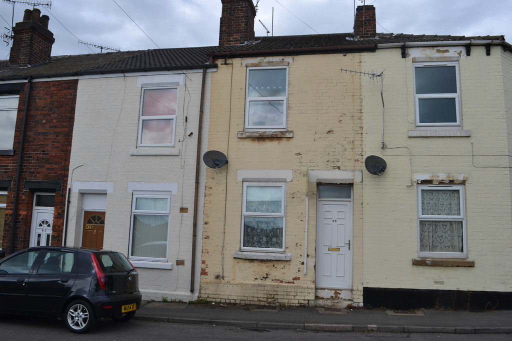 Two Bedroom Terraced for sale in Parkgate, Rotherham, S6