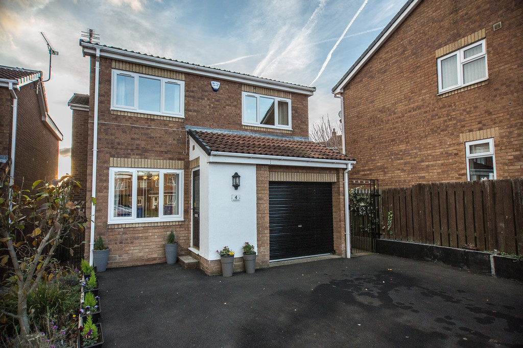 Four Bedroom Detached House for sale in High Green, Sheffield, S3
