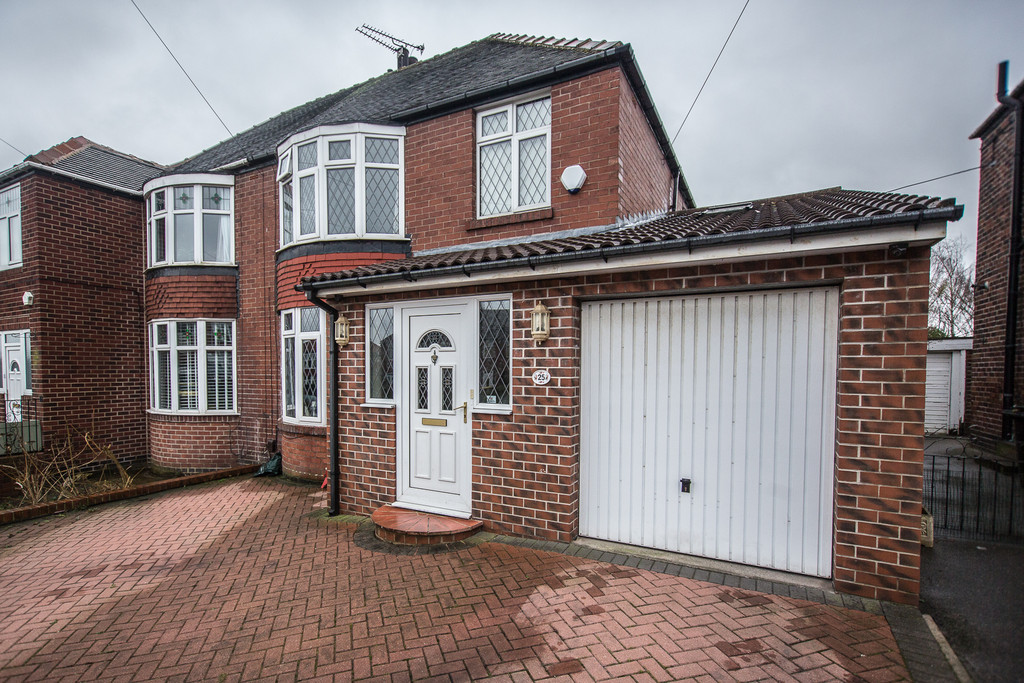 Extended Three Bedroom Semi Detached for sale in Broom, Rotherham, S6