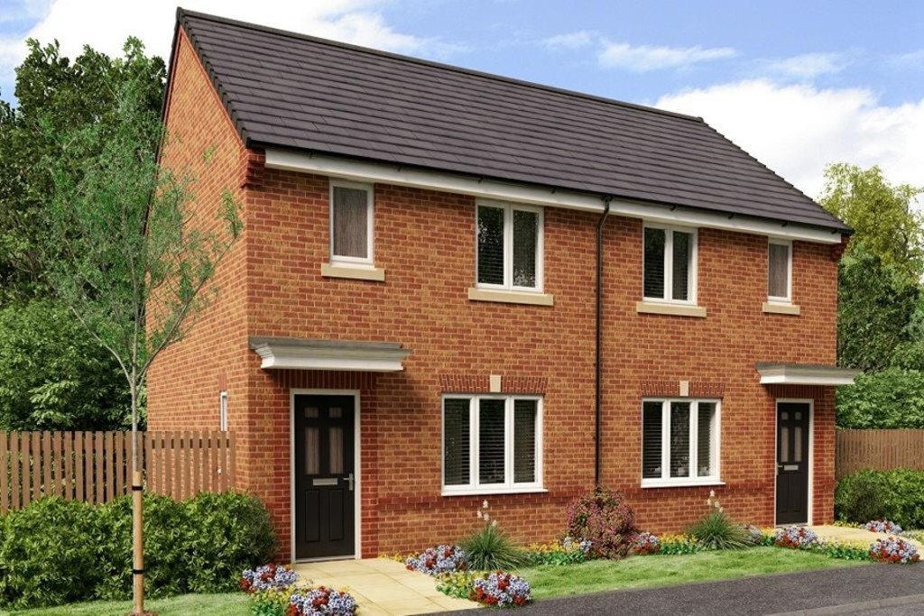 Two Bedroom Semi Detached Home for sale in Eyre View, Newbold Road, Chesterfield, S4