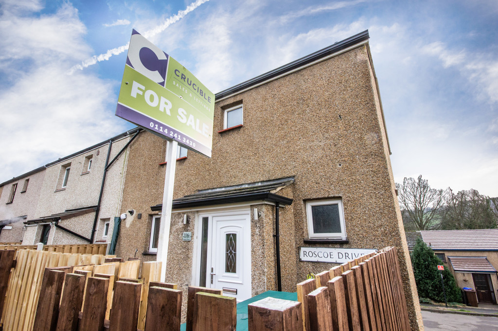 Three Bedroom End Townhouse for sale in Stannington, Sheffield, S6