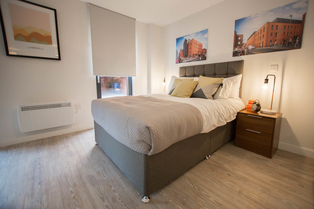 Ground Floor Studio Apartment for rent in Kelham Island, Sheffield, S3