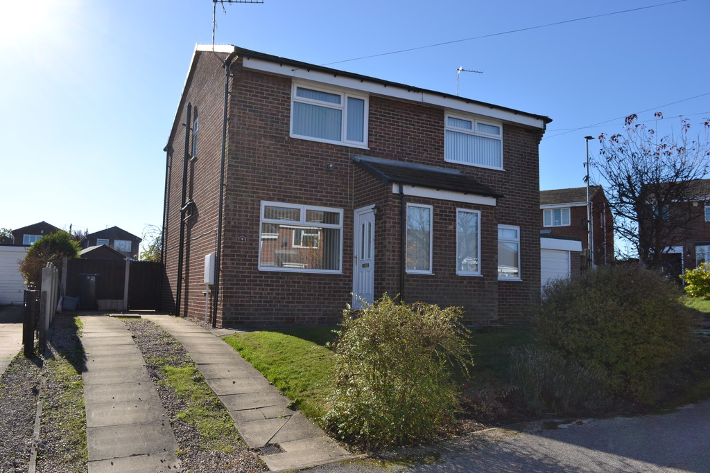 Two Bedroom Semi Detached for sale in Flanderwell, Rotherham, S6