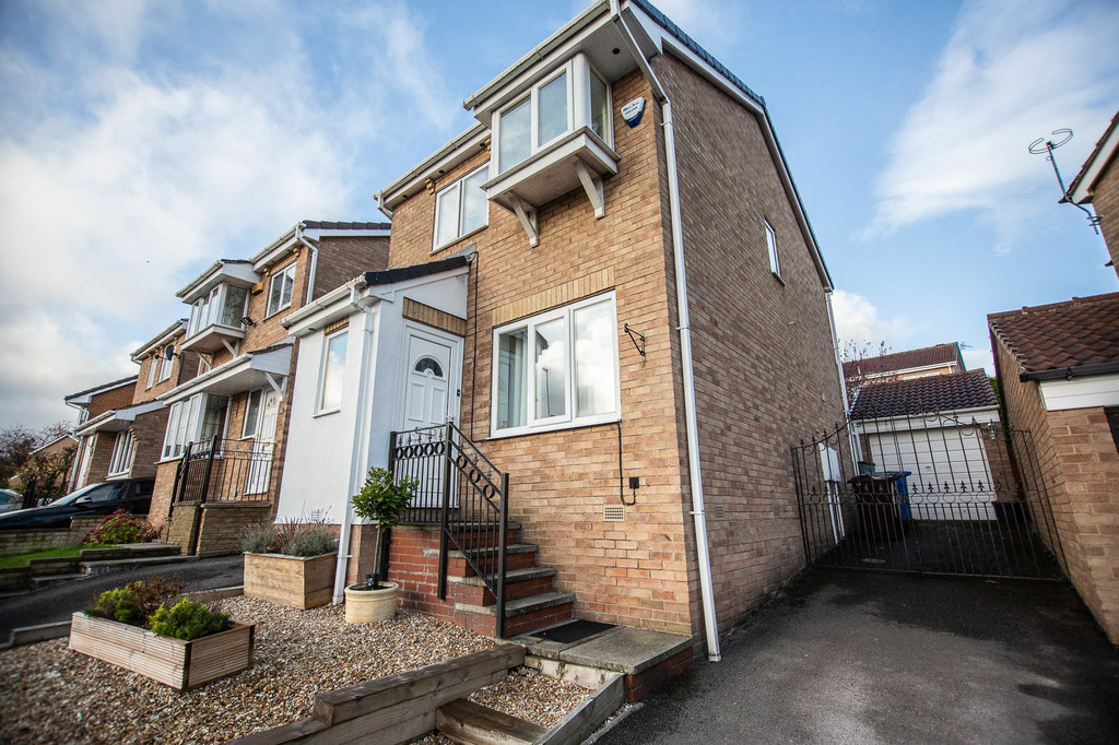 Extended Three Bedroom Detached for sale in High Green, Sheffield, S3