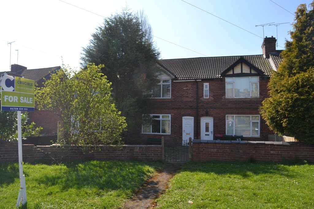 Two Bedroom Mid Terraced House for sale in Thurcroft, Rotherham, S6