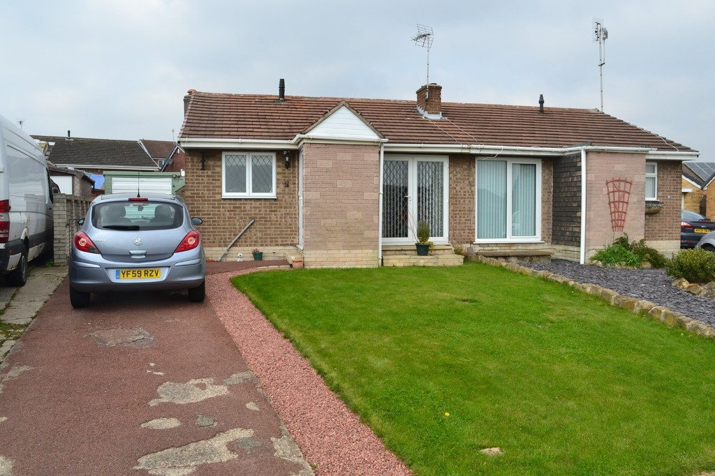 Two Bedroom Semi Detached Bungalow for sale in Swinton, , S6
