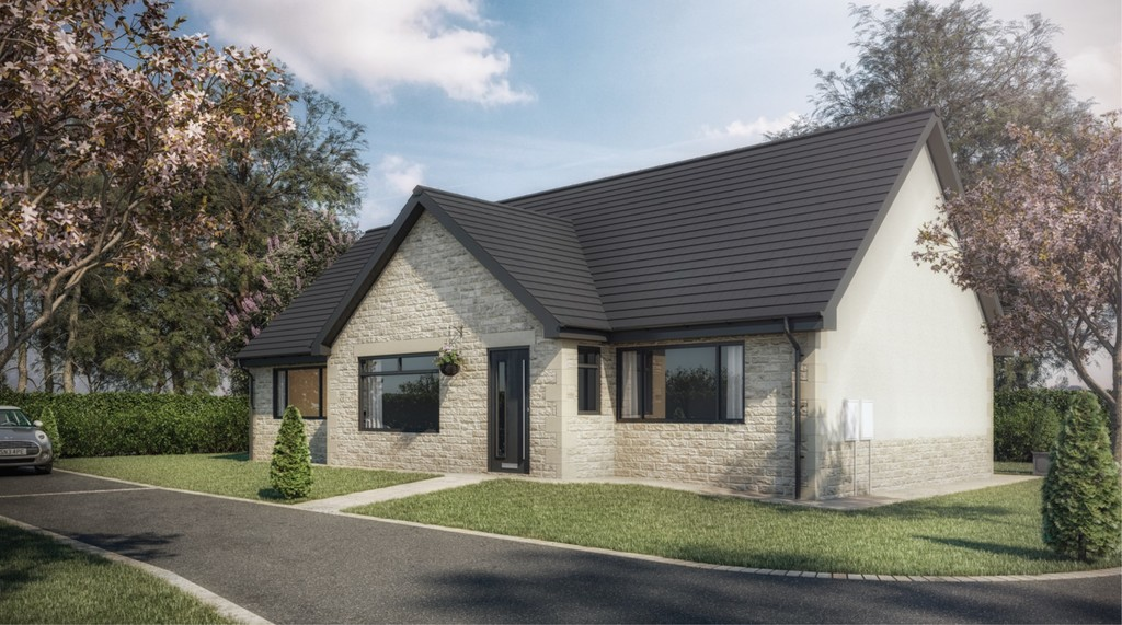 Stunning development of two detached bungalows for sale in Laughton, Sheffield, S2