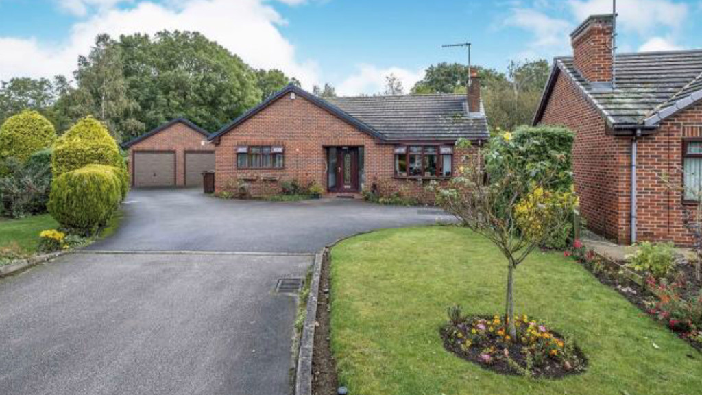 Three bedroom detached bungalow for sale in Thurcroft, Rotherham, S6