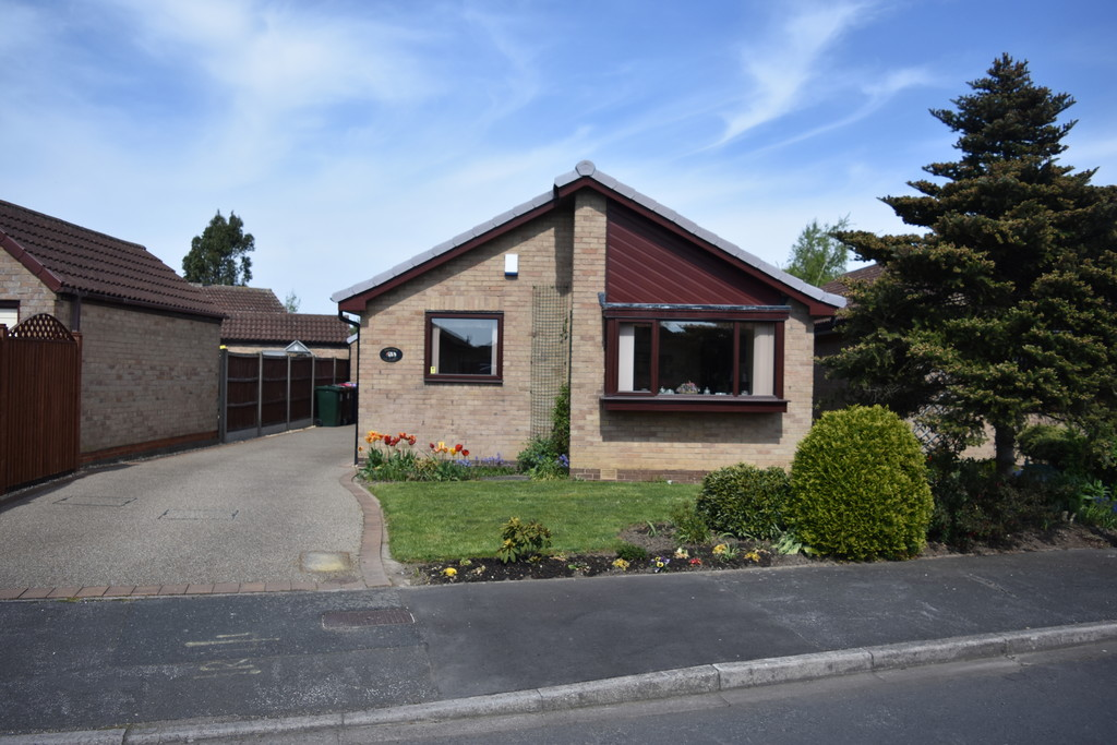 Two bedroom detached bungalow for sale in Ravenfield, Rotherham, S6
