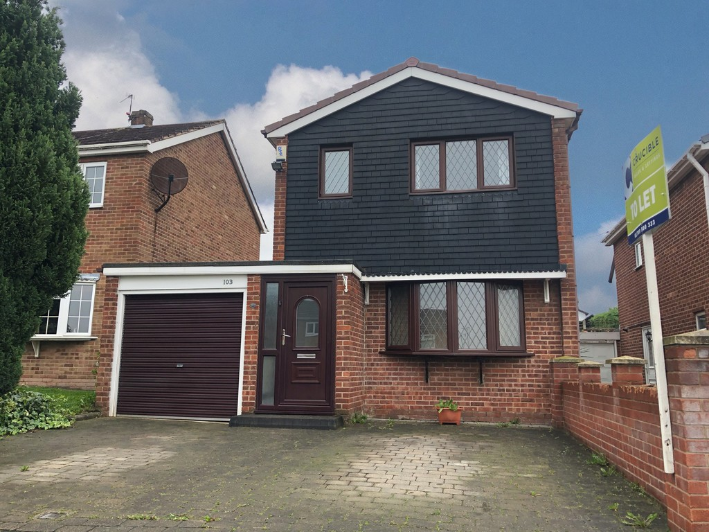 Three Bedroom Detached Home for rent in Bramley, Rotherham, S6