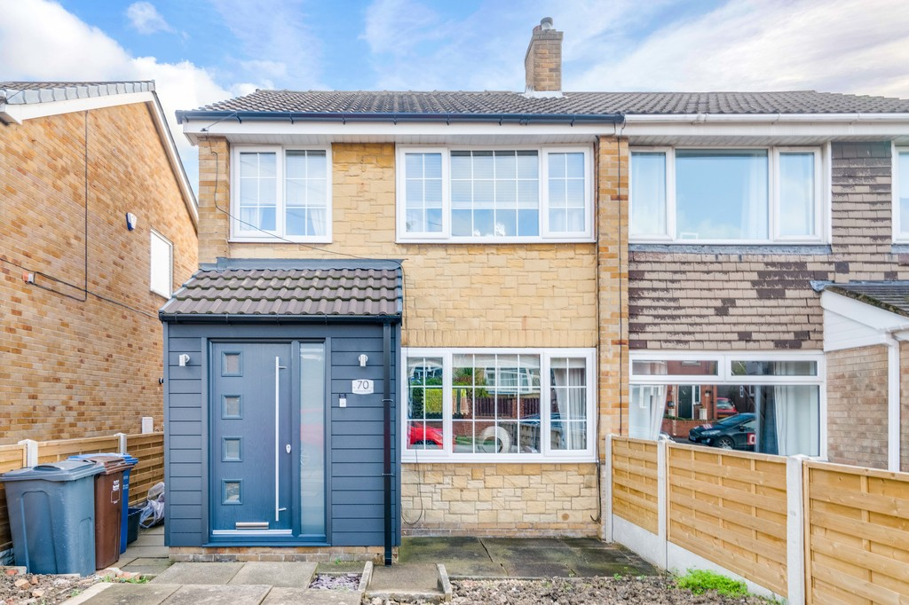 Three bedroom semi detached home for sale in High Green, Sheffield, S3