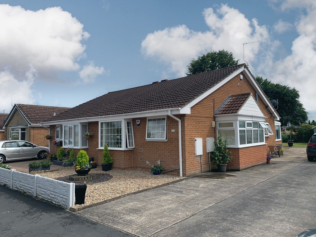 Two bedroom semi detached bungalow for sale in Branton, Doncaster, DN