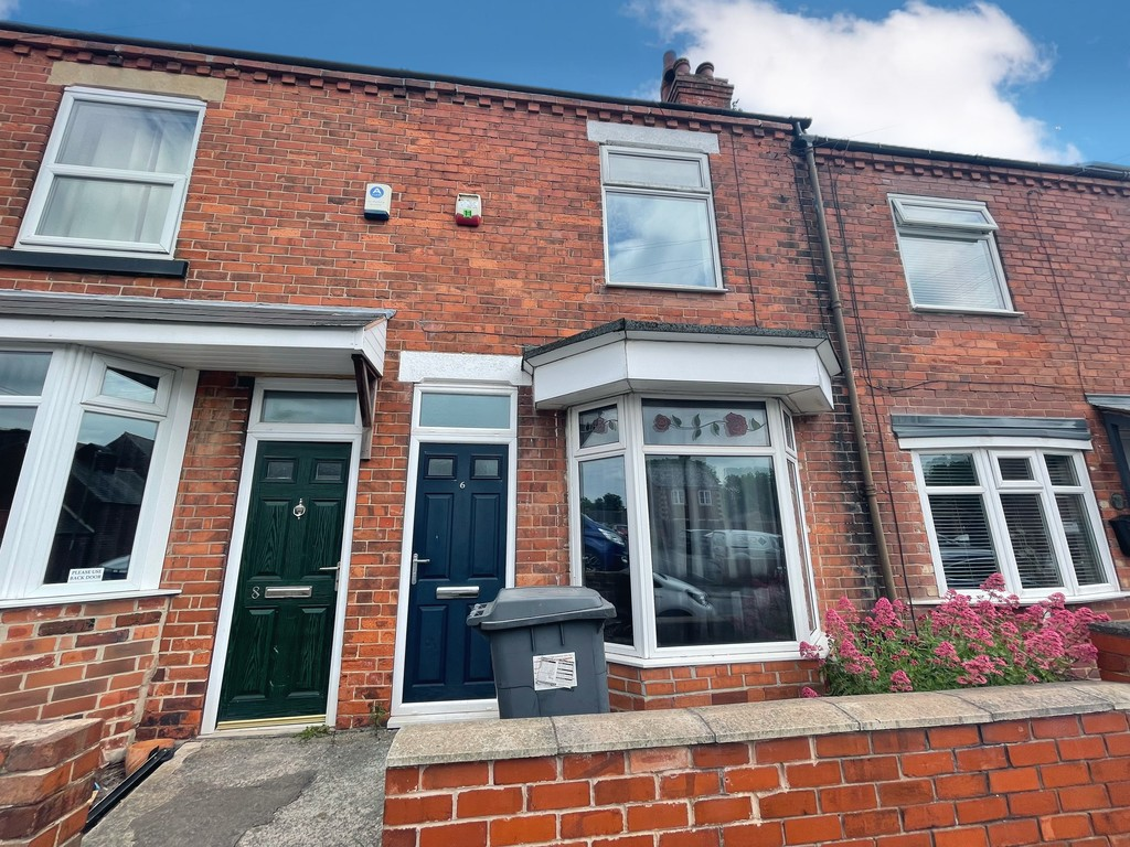 Three bedroom mid terraced home for sale in Creswell, Worksop, S8