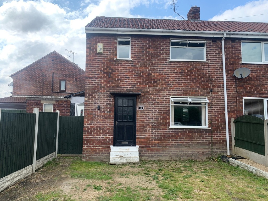 Two bedroom semi detached home for sale in Thrybergh, Rotherham, S6