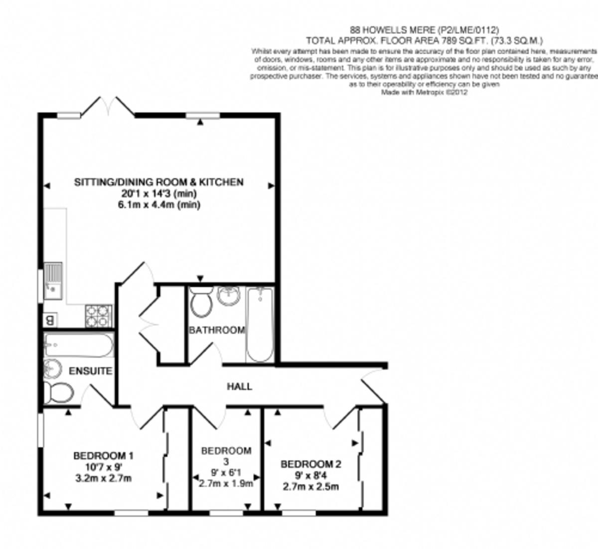 The Lower Mill Estate, Cotswolds floorplan