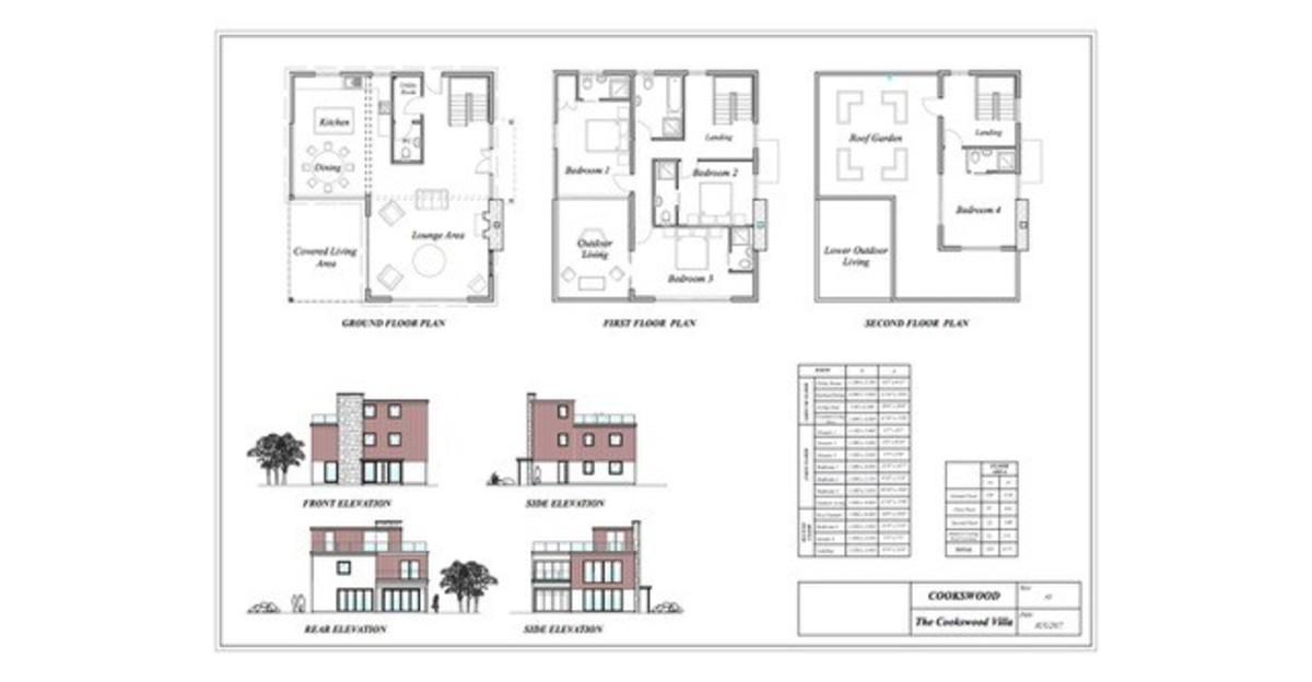 The Villa, Cookswood floorplan