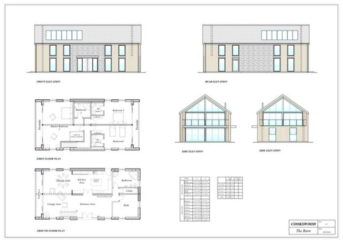 The Barn, Cookswood, Somerset floorplan