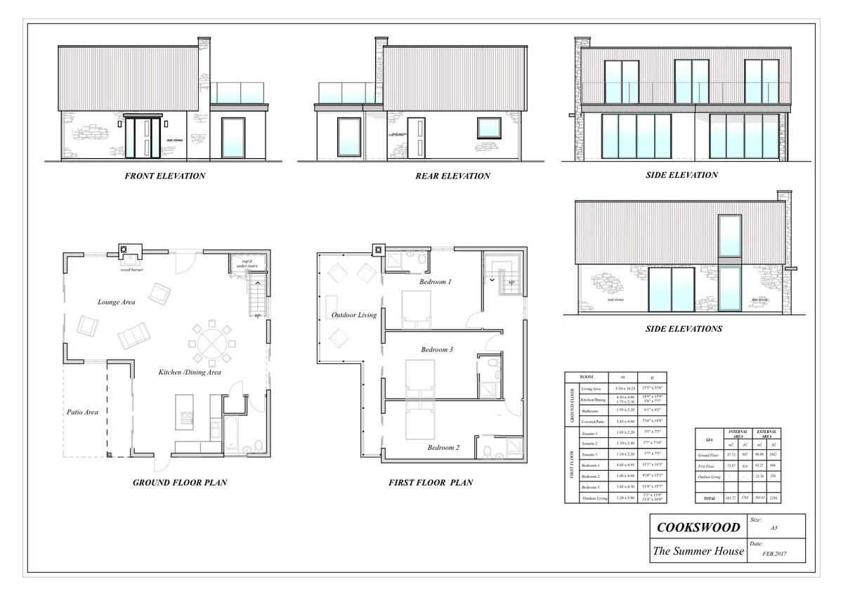 Cookswood Cottage floorplan