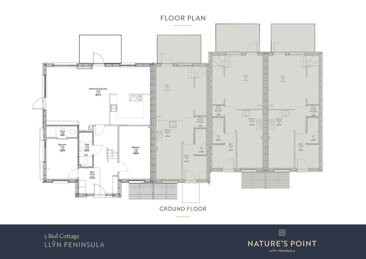 Nature's Point 5 Bedroom Cottage (New Build) floorplan