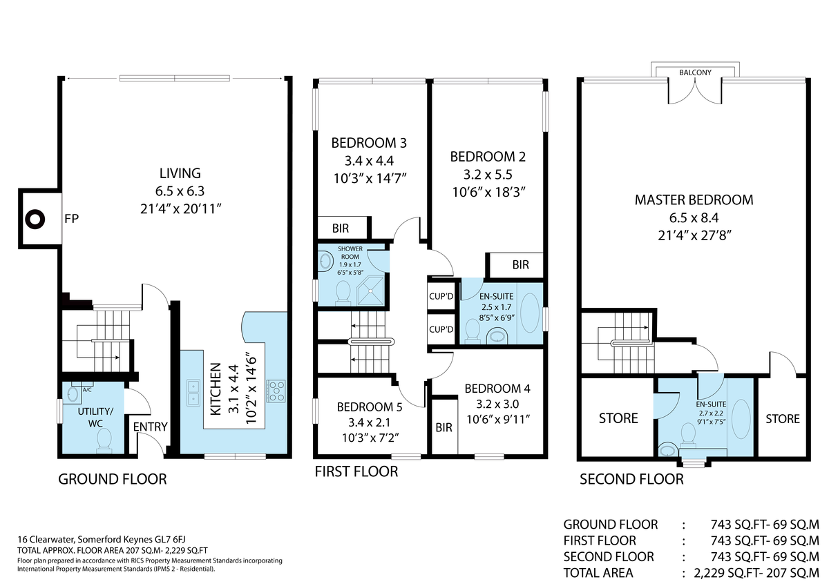 14 Clearwater, The Lower Mill Estate, GL7 6BG floorplan