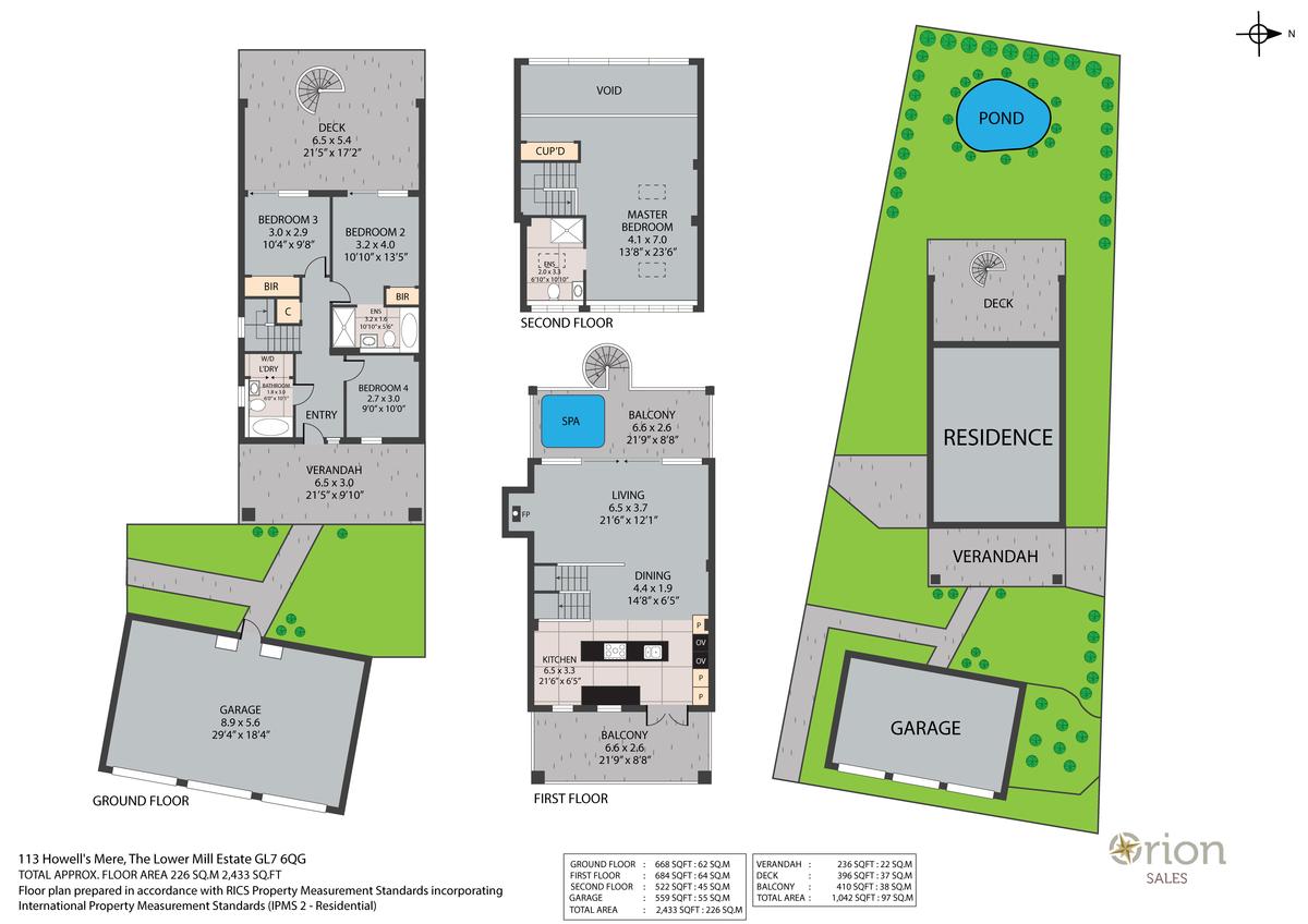 Howells Mere, The Lower Mill Estate floorplan