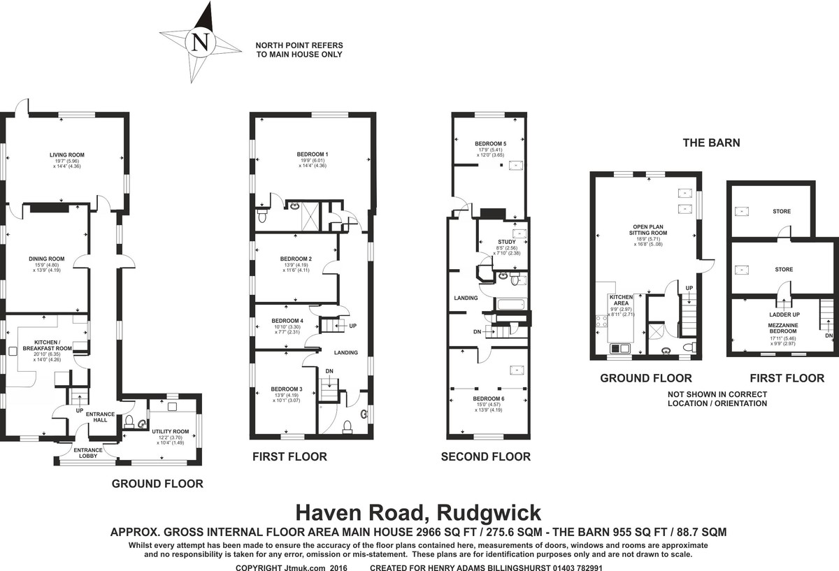 Haven Road, Rudgwick floorplan