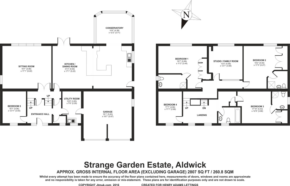 Strange Garden Estate, Aldwick floorplan