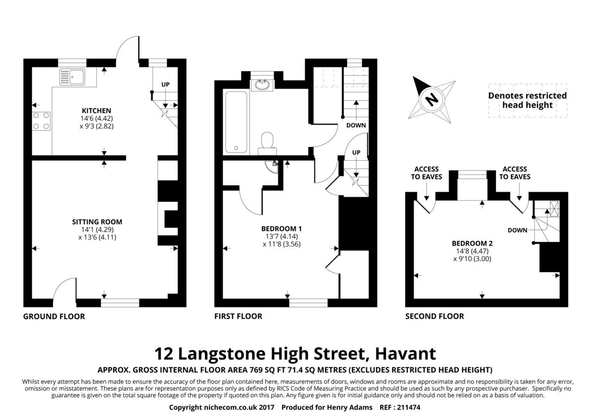 Langstone High Street, Langstone floorplan