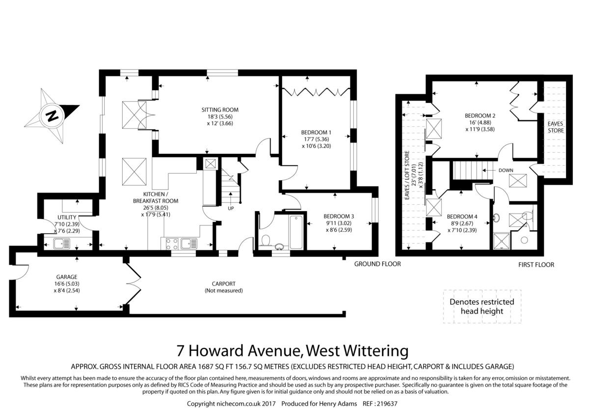 West Wittering, West Sussex floorplan