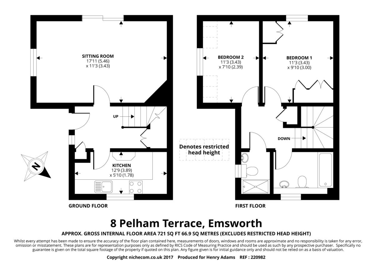 Pelham Terrace, Emsworth floorplan