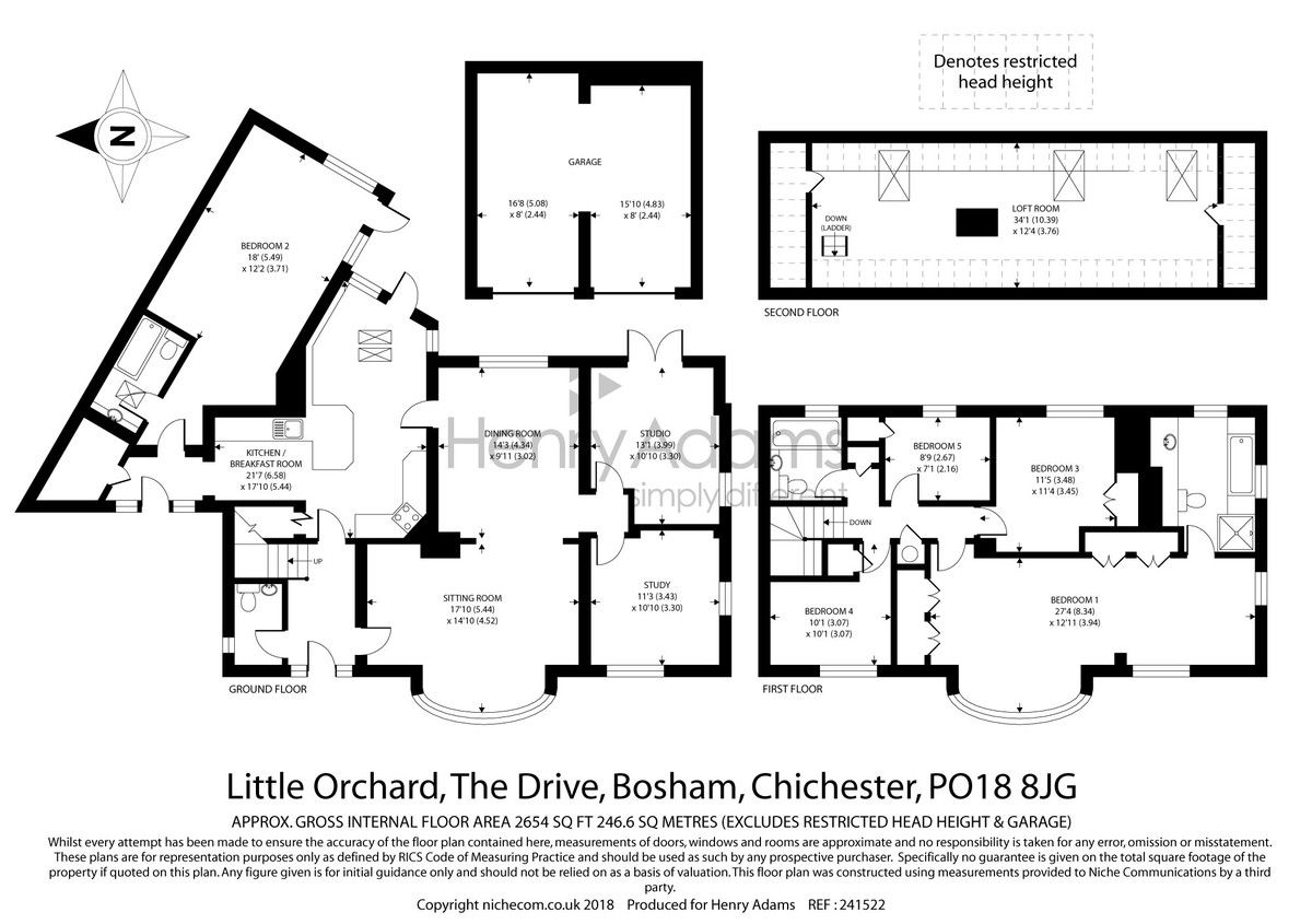 Bosham, West Sussex floorplan
