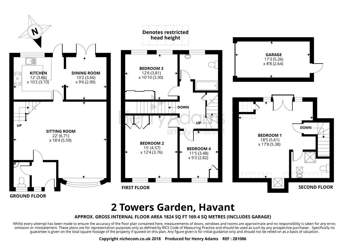 2 Towers Gardens floorplan