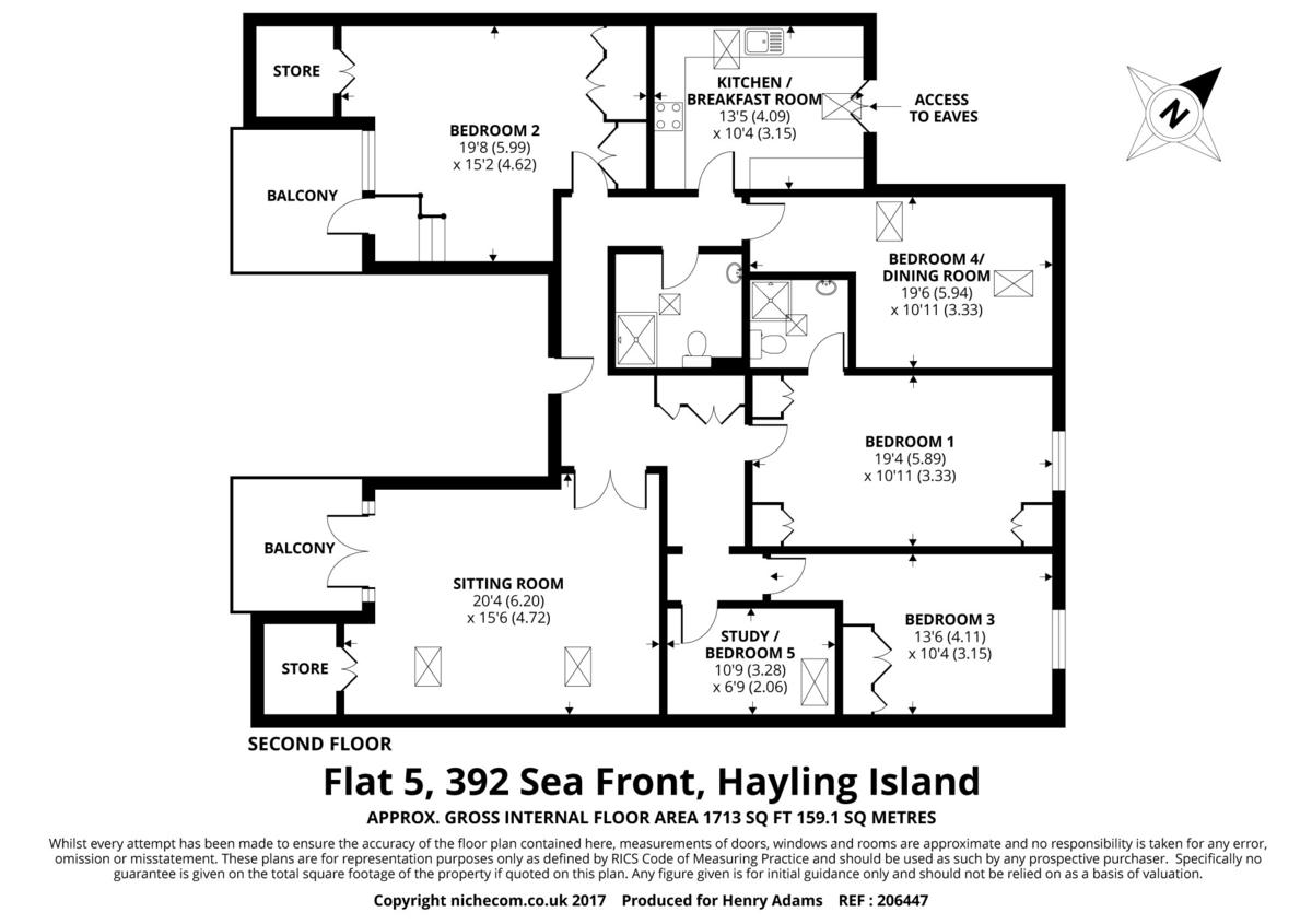 5 Boxgrove floorplan