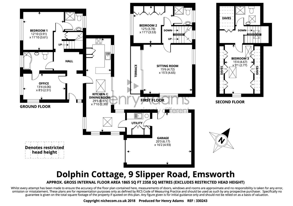 Dolphin House floorplan
