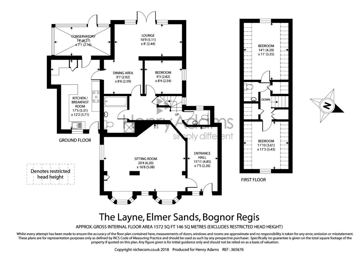 Elmer Sands, Bognor Regis floorplan