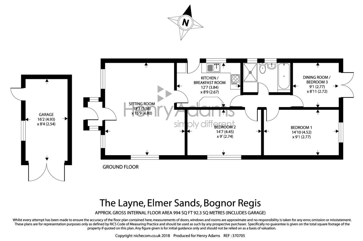 The Layne, Elmer Sands floorplan
