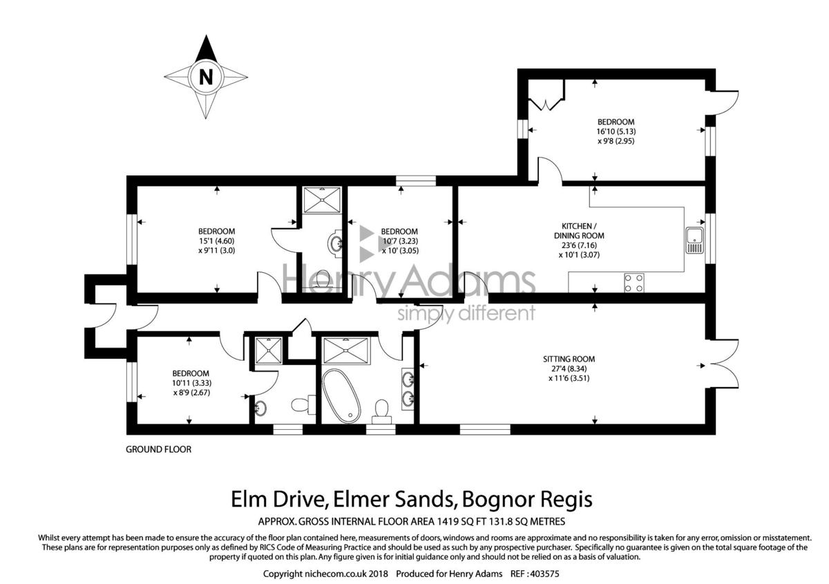 Elmer Sands floorplan