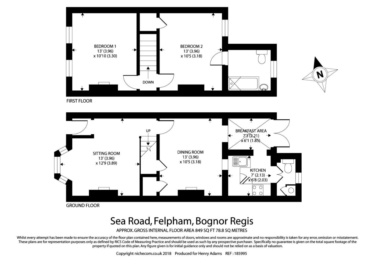 Felpham, Bognor Regis floorplan