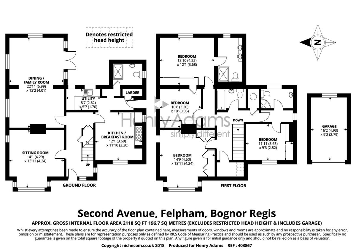 Second Avenue, Felpham floorplan