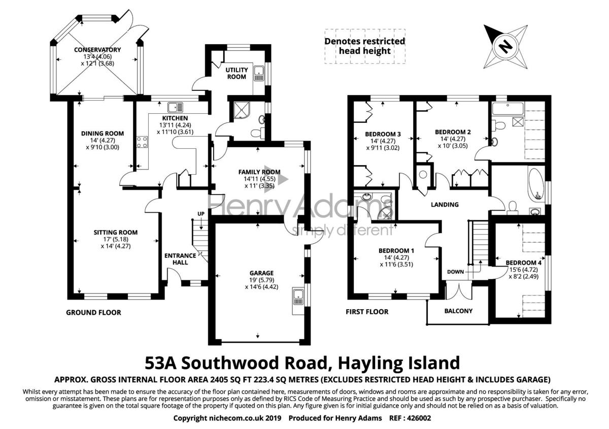 Southwood Road floorplan