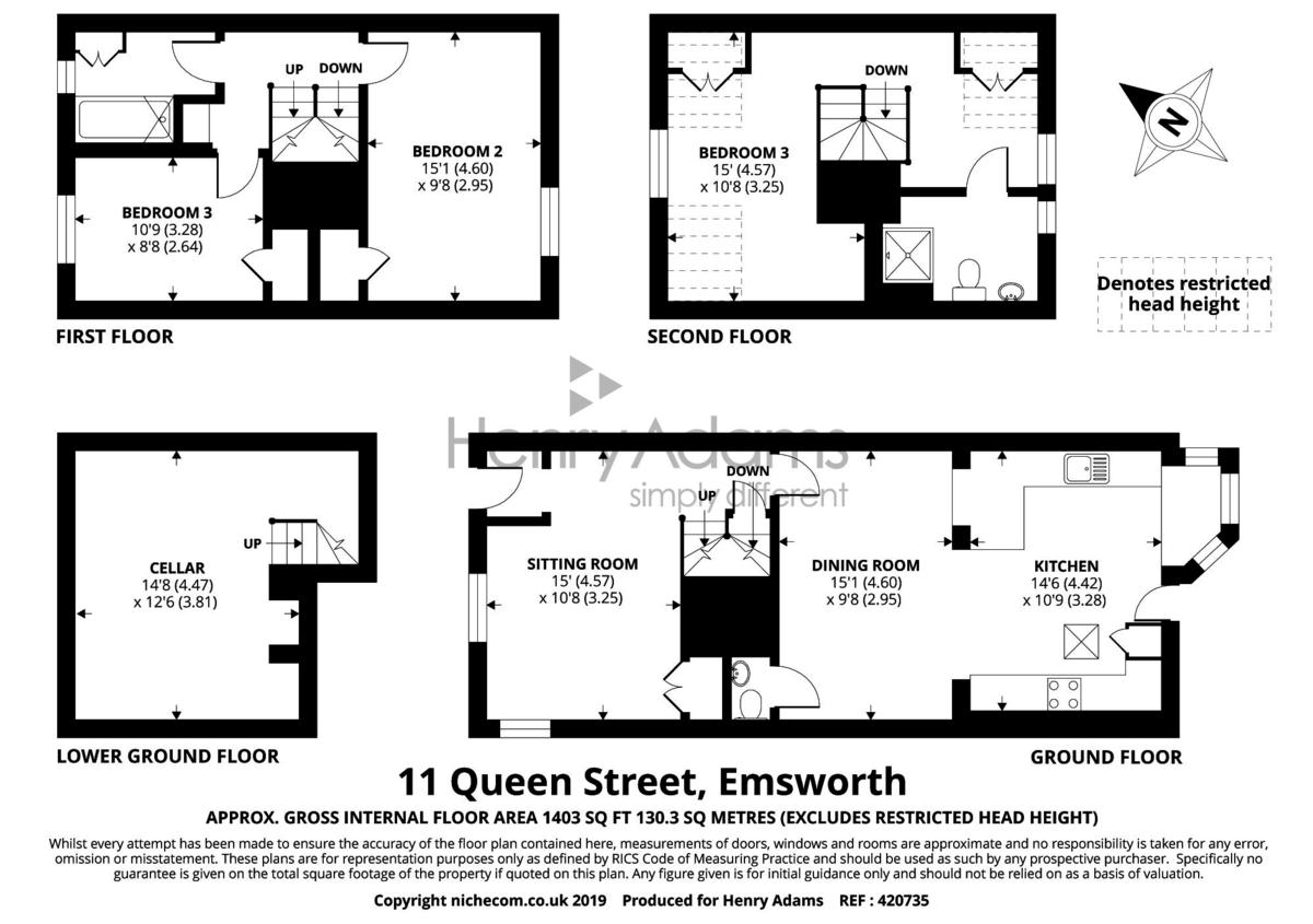 11 Queen Street floorplan