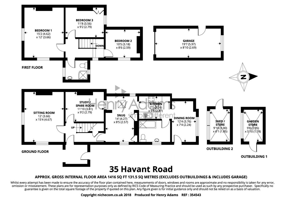 Havant Road floorplan