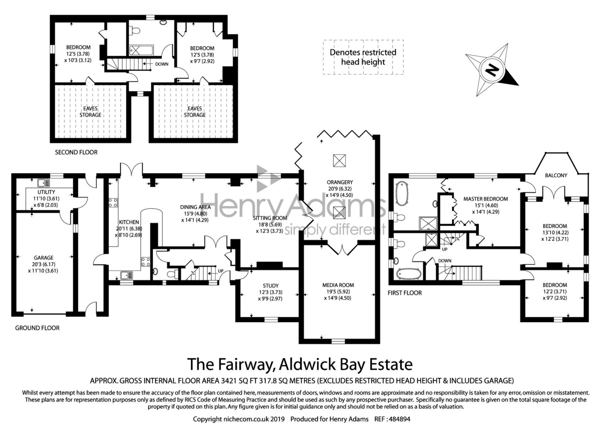 Aldwick Bay Estate floorplan
