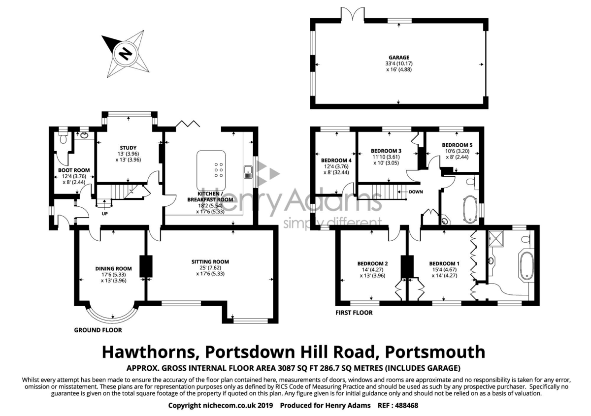 Portsdown Hill Road floorplan