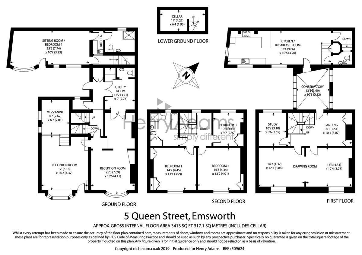 Queen Street floorplan
