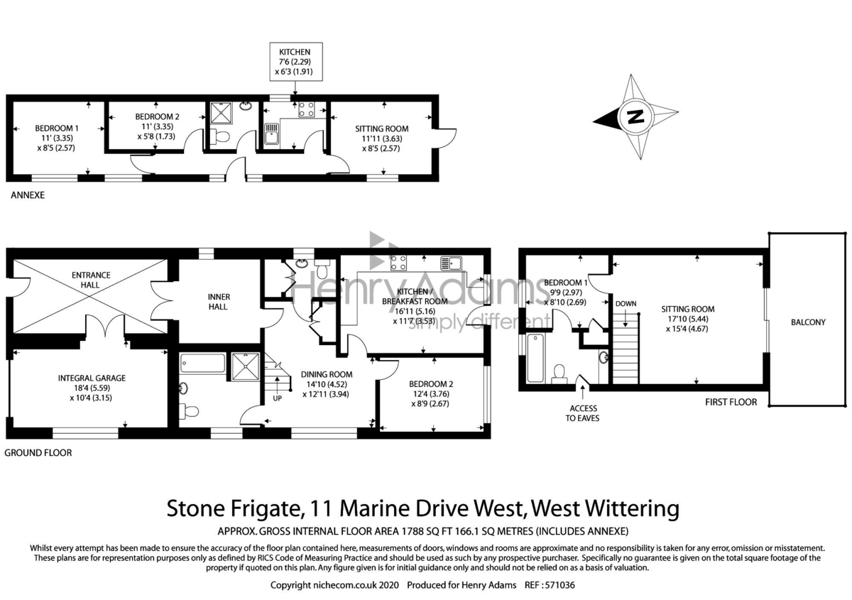 West Wittering, West Sussex floorplan